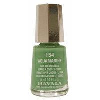 Mavala Mini Color Nail Color Cream 5ml - Color: 154: Aquamarine