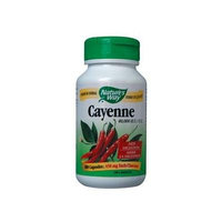 Cayenne Pepper 40,000 HU / 100 Caps Brand: Natures Way