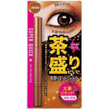 Sana Superquick Liquid Eyeshadow Eyeliner EX 01 Brown