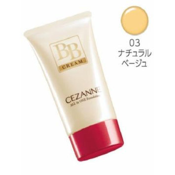 Cezanne Canmake Japan BB Cream All-in-one Foundation SPF 23 PA++ Great for Skin (03)