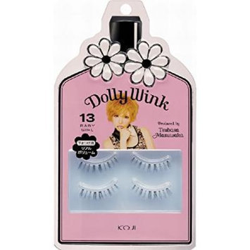 Koji Dolly Wink False Eyelashes #13 Baby Girl