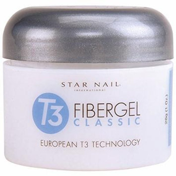 Star Nail T3 European Fibergel Clearly Clear 1 oz