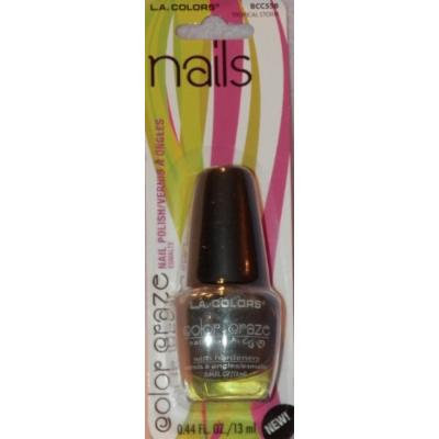 L.A. Colors Color Craze Nail Polish, BCC558 Tropical Storm, 0.44 Fl Oz