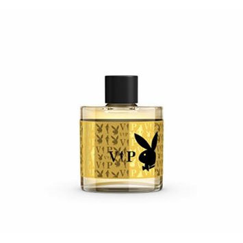 Playboy Male Aftershave Lotion, VIP, 3.4 Fluid Ounce