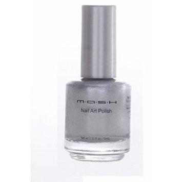 MASH Special Nail Art Stamping Polish 15ml (Silver Metallic)
