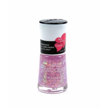 Nabi Nail Polish Lilac Jumbo Glitter 160 - 15mL