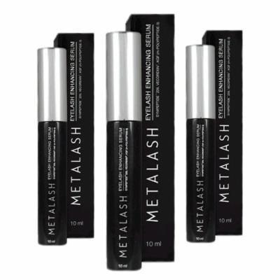 Metalash 3pack - Best Eyelash Growth Serum - Best Eyelash Enhancer - Lash Strengthener - Get Longer Lashes Now