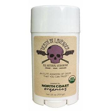 North Coast Organics - All Natural Deodorant Death by Lavender - 2.5 oz.