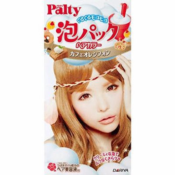 Dariya Palty Bubble Pack Hair Color Cafe Au Lait Chiffon