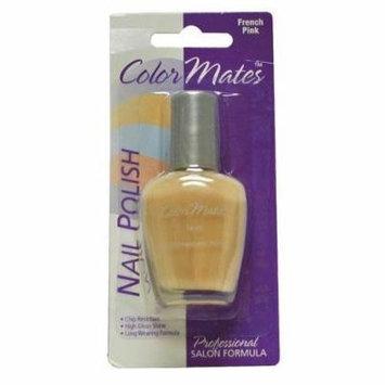 ColorMates Nail Polish, French Pink, 0.47 Fl Oz