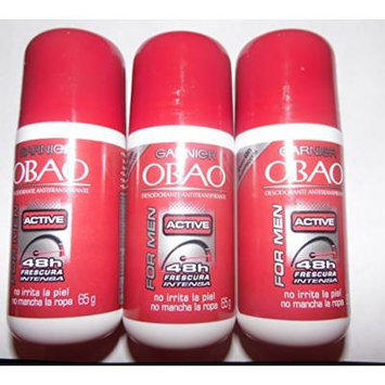 Garnier OBAO Deodorant Men ACTIVE 65g.(3pack)