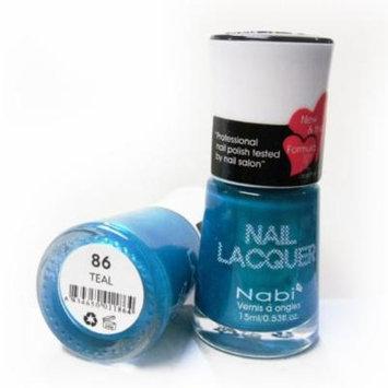 Nabi Nail Polish Teal 86 - 15mL