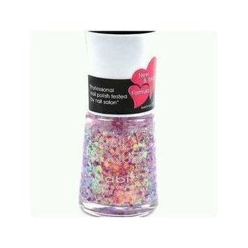 Nabi Nail Polish Purple Jumbo Glitter 161 - 15mL