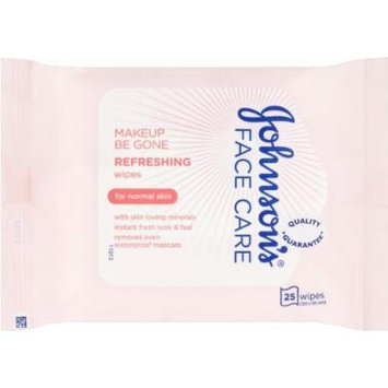 Johnson's Face Care Daily Essentials Facial Cleansing Wipes 25 Wipes -Pack Of 4