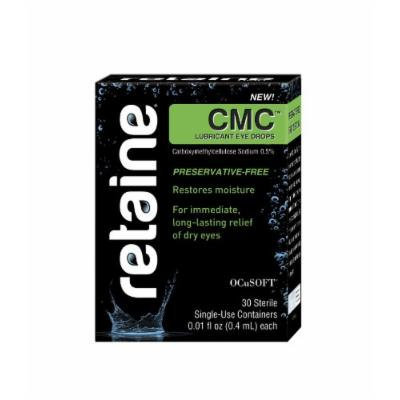 Retaine CMC Preservative-free Lubricant Eye Drops (30 Single-Use Containers) 0.01 Fl oz each