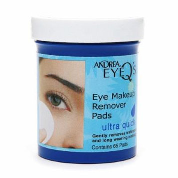 Andrea EyeQ's Eye Make-Up Remover Pads, Ultra Quick