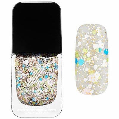 Xplosives Top Coats Formula X for Sephora 0.4 Oz Demolition - Blue, Turquoise, Lime and Orange Confetti