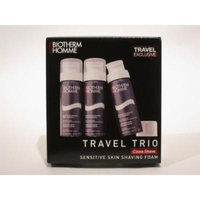 Biotherm Homme Sensitive Skin Shaving Foam - Travel Trio 3 Pack
