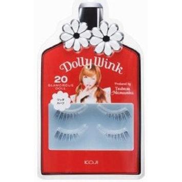 DOLLY WINK Koji False Eyelashes, No. 20 Glamorous Doll, 0.5 Pound