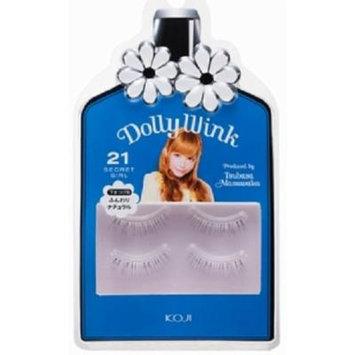 Koji Dolly Wink False Eyelashes #21 Secret Girl