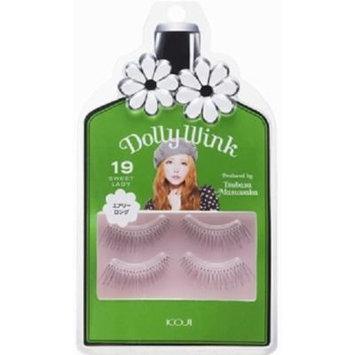 DOLLY WINK Koji False Eyelashes, No. 19 Sweet Lady, 0.5 Pound