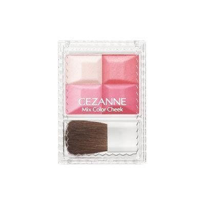 Cezanne Mix Color Cheek Blush Multi-color Made in Japan (01)