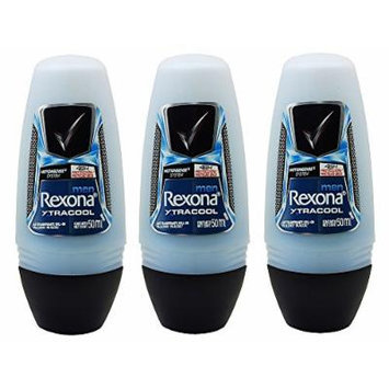 Rexona Men Xtra Cool Anti-perspirant Deodorant Roll-on 50ml (1.7 Fluid Ounce). (Pack of 3)