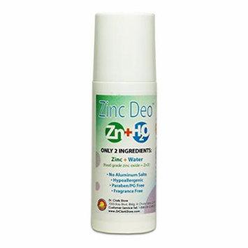 Zinc Oxide Deodorant (Roll-On), 3 oz