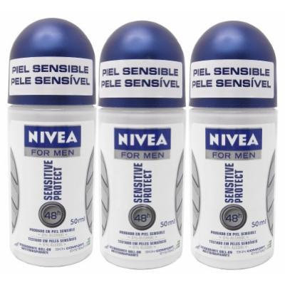 NIVEA Sensitive Protect Men's Roll-on Deodorant