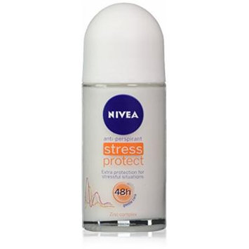 Nivea for Women Stress Protect Anti-perspirant Deo Roll-on 50ml (1.7 Fluid Ounces). Pack of 3