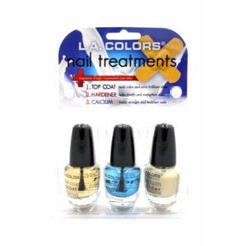 La Colors Nail Treatments 3pcs Gift Set