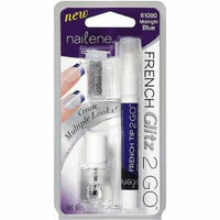 Nailene French Glitz 2 Go Midnight Blue Nail Polish 0.26oz