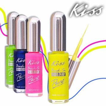 Kiss Nail Art Paint 0.25oz ((PA29-Pearl Blue))