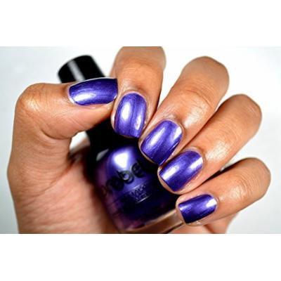 Probelle Nail Lacquer .5 Fl Oz (Vivid Night (Purple Pearl))