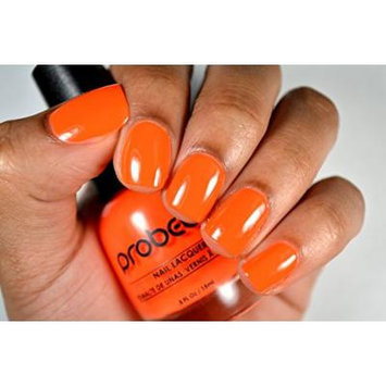 Probelle Nail Lacquer .5 Fl Oz (Summer Glow (Orange Neon))