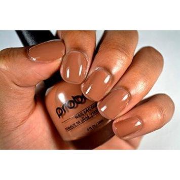 Probelle Nail Lacquer .5 Fl Oz (Overcast (Light Brown Cream))