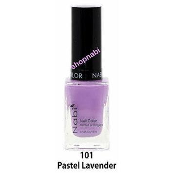 Nabi Nail Polish Pastel Lavender No.101 - 15ml Square Bottle