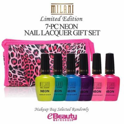 7PC GIFT SET- MILANI Nail Lacquer Neon