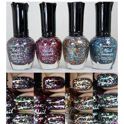 New Kleancolor Glitter Nail Polish 4 Colors