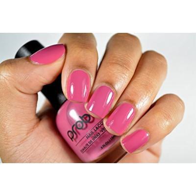 Probelle Nail Lacquer .5 Fl Oz (Addiction (Pink Cream))