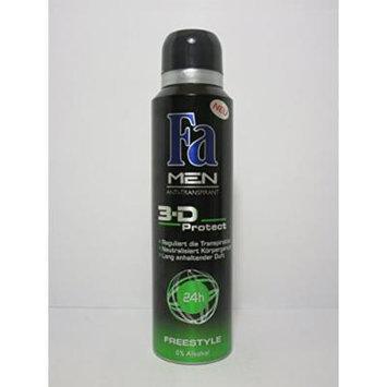 Fa 3d Protect Freestyle Anti-perspirant Deodorant for Men - 150 Ml