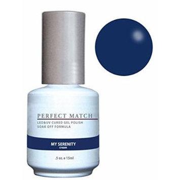 LeChat Perfect Match Gel Polish & Nail Lacquer My Serenity - .5oz