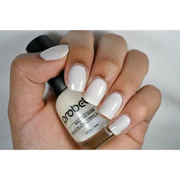 Probelle Nail Lacquer .5 Fl Oz (Luxury (White Cream))