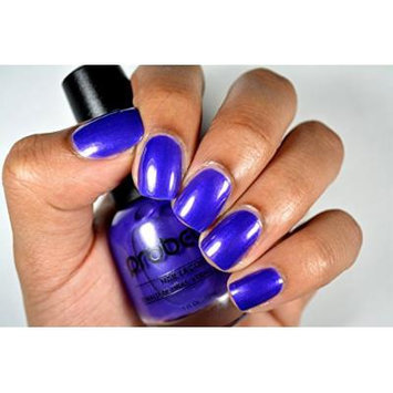 Probelle Nail Lacquer .5 Fl Oz (Flashy Attitude (Pearly Purple Cream))
