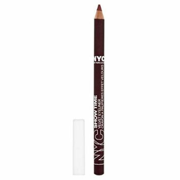 NYC Dark Velvet Eye Liners Number 952, Black Wine