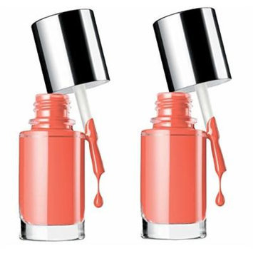 Clinique A Different Nail Enamel for Sensitive Skin Nail Color - Really Rio (Mini Duo Pack)