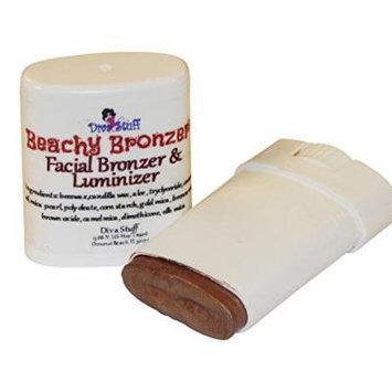 Beachy Bronzer, Facial Bronzer and Luminizer, Cream Formula, By Diva Stuff