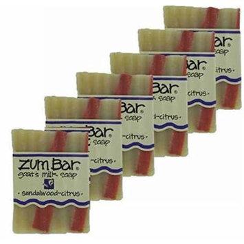 Indigo Wild: Zum Bar Sandalwood Citrus 3oz Set of 6
