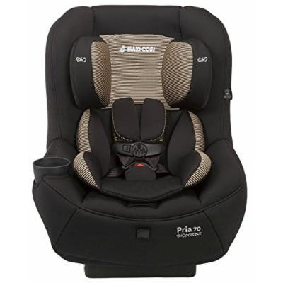 Maxi-Cosi Pria 70 Convertible Car Seat with Easy Clean Fabric and BONUS 20 Ounce Flavor Infusing Water Bottle, Black Toffee