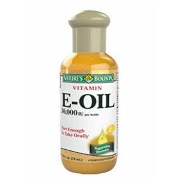 Vitamin E-OIL 30000IU Nature's Bounty Supplement Antioxidant Immune Skin: Size 2.5 oz Liquid